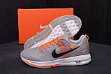 Мужские летние кроссовки сетка Nike AIR Max GREY ., фото 8