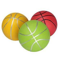 Мяч баскетбольный, резиновый, 3 цвета, BT-BTB-0029