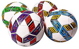 М'яч футбольний, з ниткою, 4 кольори, BT-FB-0266