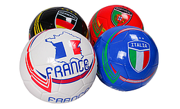 Мяч футбольный, 4 цвета, BT-FB-0274