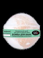 Dolce Vero Бомба для ванн «З ароматом Шоколадно-м'ятний брауні» 75 гр
