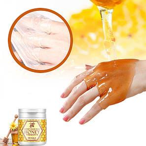 Маска для рук BIOAQUA Honey Hand Wax парафиновая с экстрактом меда 170 г., фото 2