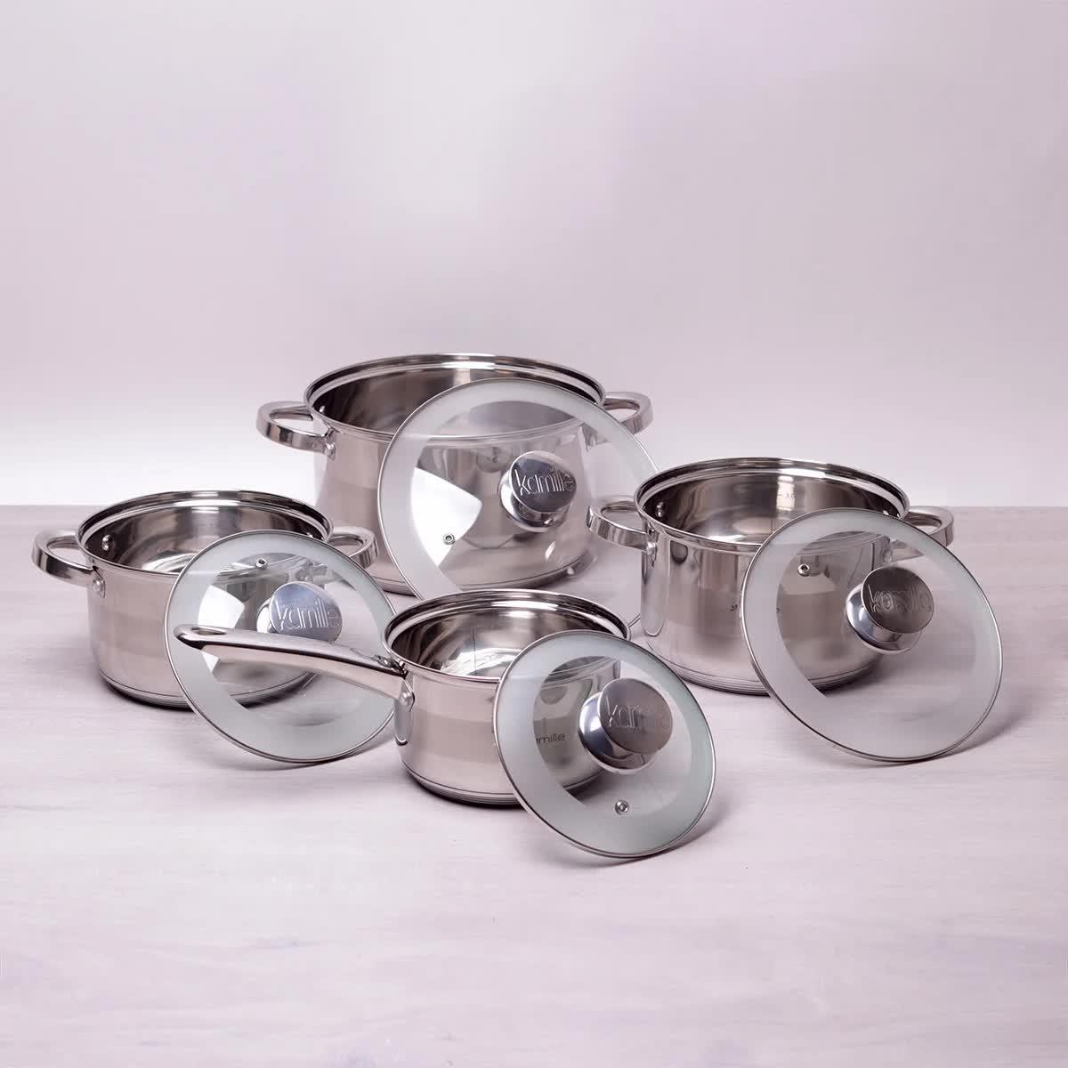 """Набір посуду Kamille """"Springfield"""" 8 предметів"""