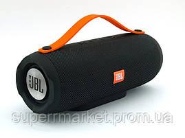 JBL Charge BoomBox E13 10W копия Explorer, блютуз колонка с МП3 и ФМ, черная, фото 3