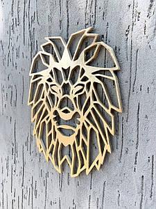 Настенный декор, декоративный элемент на стену Golden Lion