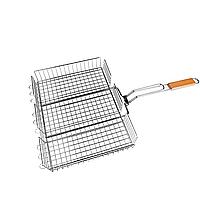 Решетка для гриля 43 x 30 x 6 см Benson B902 | Сітка-решітка для мангалу, барбекю