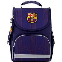 Школьный рюкзак каркасный ортопедический Kite Education 501 FC Barcelona, для мальчиков, синий (BC20-501S)