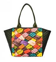 Женская сумка Episode Amanda Knitting зеленая (E16S108.03)