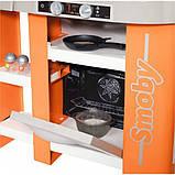 Smoby Интерактивная детская игровая кухня шеф оранжевая 311407 Chef Tefal Kitchen, фото 3