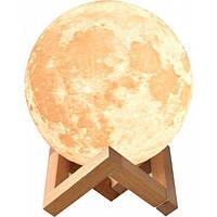 Светильник ночник 3D Луна UTM | Нічник світильник