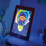Детский планшет для рисования Magic Pad 3D, планшет рисуй светом, фото 5