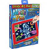 Детский планшет для рисования Magic Pad 3D, планшет рисуй светом, фото 6