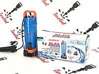 Насос дренажный для грязной воды 1200 Вт Al-FA Italy Original Дюраль