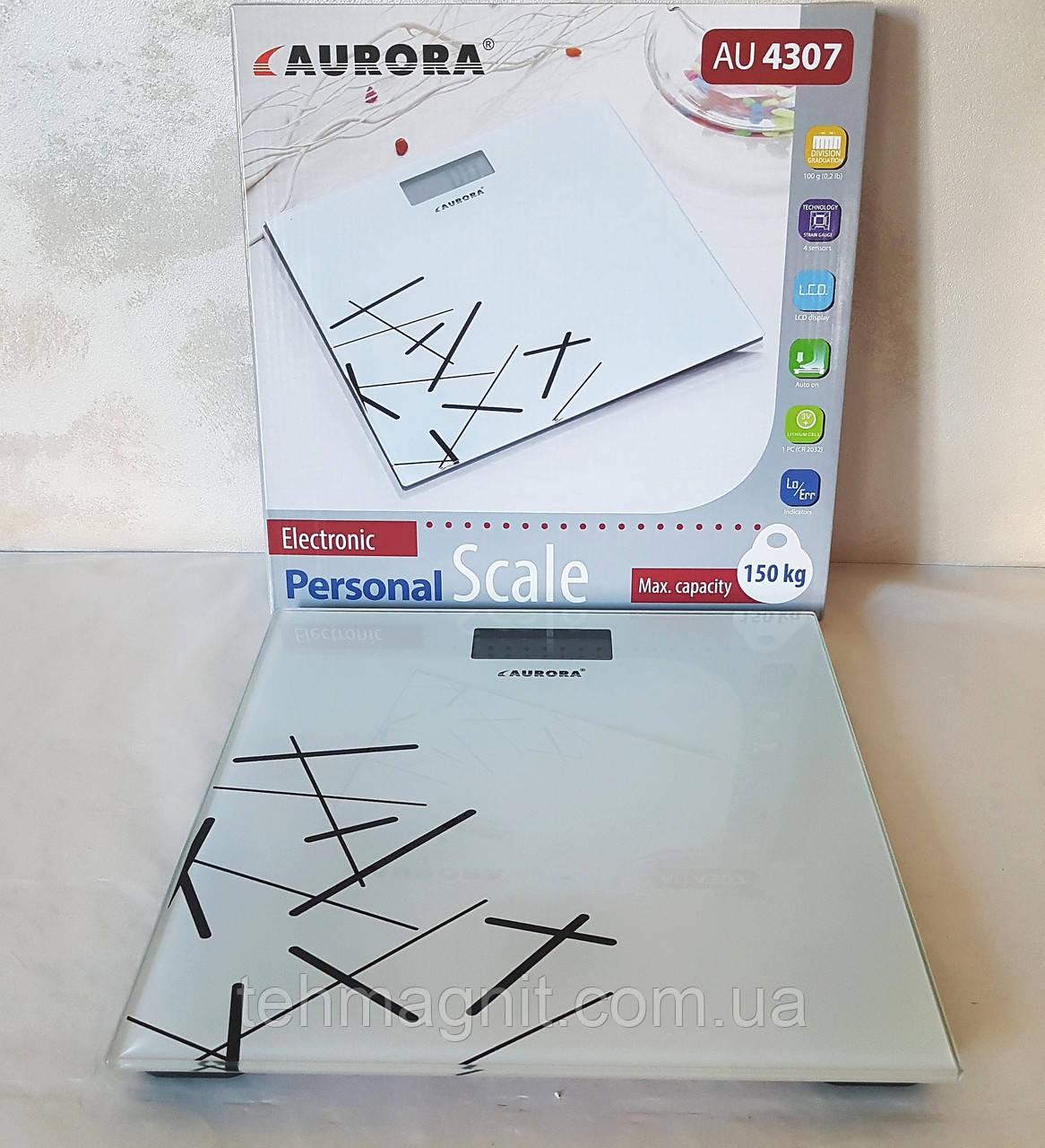 Весы напольные электронные Aurora AU-4307