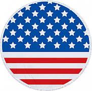 Пляжный коврик из микрофибры Флаг Америки