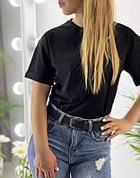 Женская футболка свободного кроя