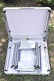 Стол Складной Для Пикника + 4 стульчика, фото 3
