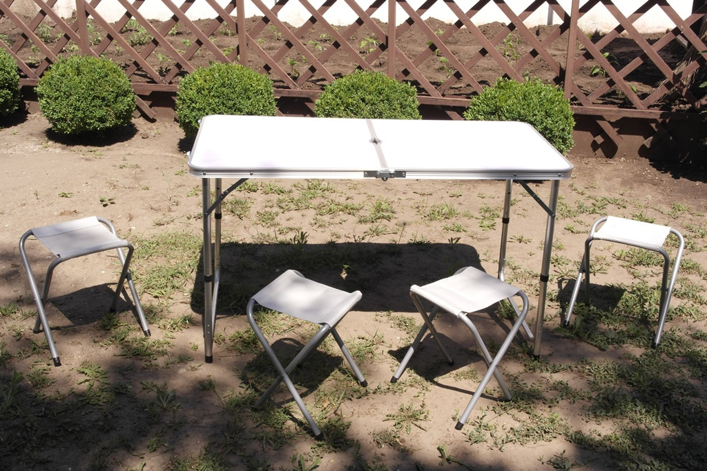 Стол Складной Для Пикника + 4 стульчика
