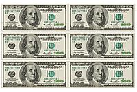 Вафельная картинка Доллары/Евро | Съедобные картинки Деньги | Деньги вафельные картинки Формат А4