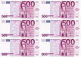 Вафельная картинка Доллары/Евро  | Съедобные картинки Деньги | Деньги вафельные картинки Формат А4, фото 4