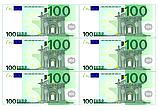Вафельная картинка Доллары/Евро  | Съедобные картинки Деньги | Деньги вафельные картинки Формат А4, фото 3