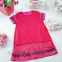 Платье трикотажное для девочки (1-4 года)