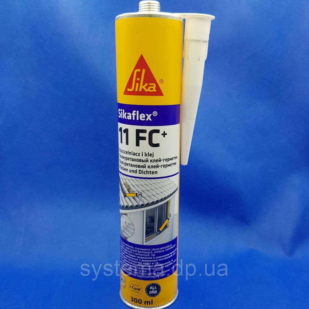 Клей-герметик, белый, 300 мл - Sikaflex®-11 FC+ однокомпонентный, пластичный
