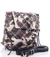 Женская тканевая сумка 8003 khaki Тканевые сумки недорого, текстильные сумки