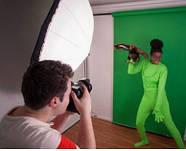 Зеленый костюм хромакей (Green Chromakey ) FST Chroma key, фото 8