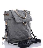 Женская тканевая сумка 8003 grey Тканевые сумки недорого, текстильные сумки