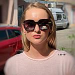 Стильные черные солнцезащитные очки линза polarized, фото 4