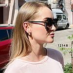 Стильные черные солнцезащитные очки линза polarized, фото 3