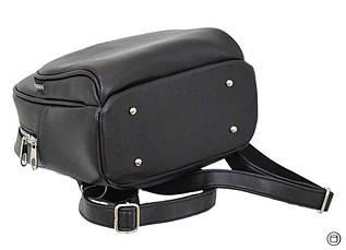 Женский городской рюкзак Case 652 черний шоколад, фото 3