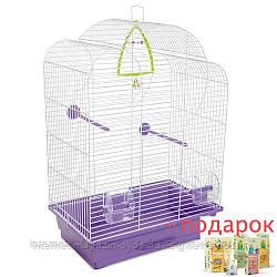 Клетка Воля для мелких декоративных птиц ТМ Природа 44х27х63см