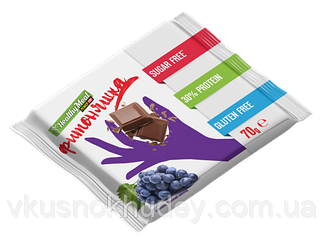Протеиновая шоколадка Power Pro «ФИТОНЯШКА» Молочная с Изюмом (70 грамм)
