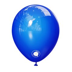 "Шар 5"" (12 см) Kalisan пастель Blue синий (Калисан)"