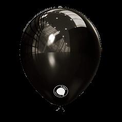 """Шар 5"""" (12 см) Kalisan пастель Black черный (Калисан)"""