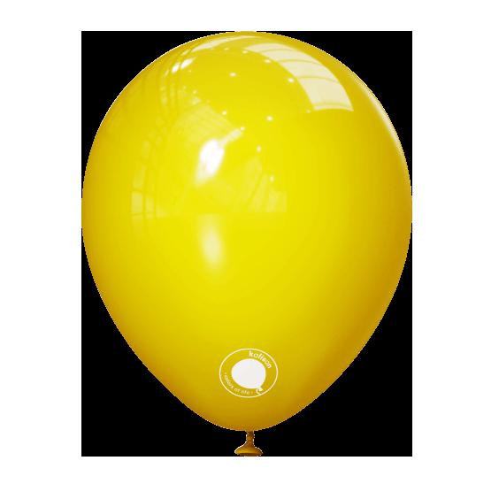 """Куля 5"""" (12 см) Kalisan пастель Yellow жовтий (Калисан)"""