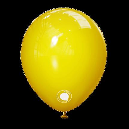"""Куля 5"""" (12 см) Kalisan пастель Yellow жовтий (Калисан), фото 2"""