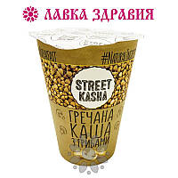 Каша гречневая с грибами STREET KASHA, 50 г (стакан)