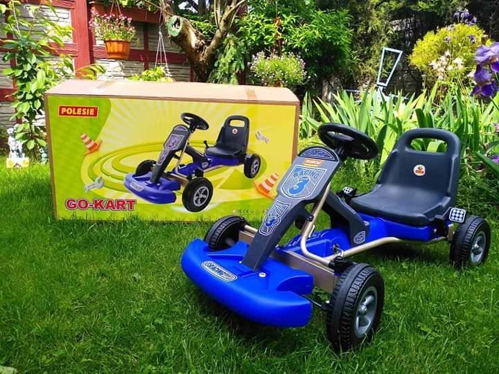 """Каталка-автомобіль з педалями """"Карт"""" COLOMA Y PASTOR-Полісся.Безкоштовна доставка Укрпоштою до 20 червня"""