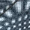 Сатин хлопок звездочки густые на графитовом фоне, ш. 160 см