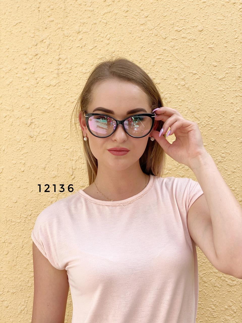 Стильные имиджевые очки с антибликовым покрытием
