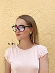 Стильные имиджевые очки с антибликовым покрытием, фото 3