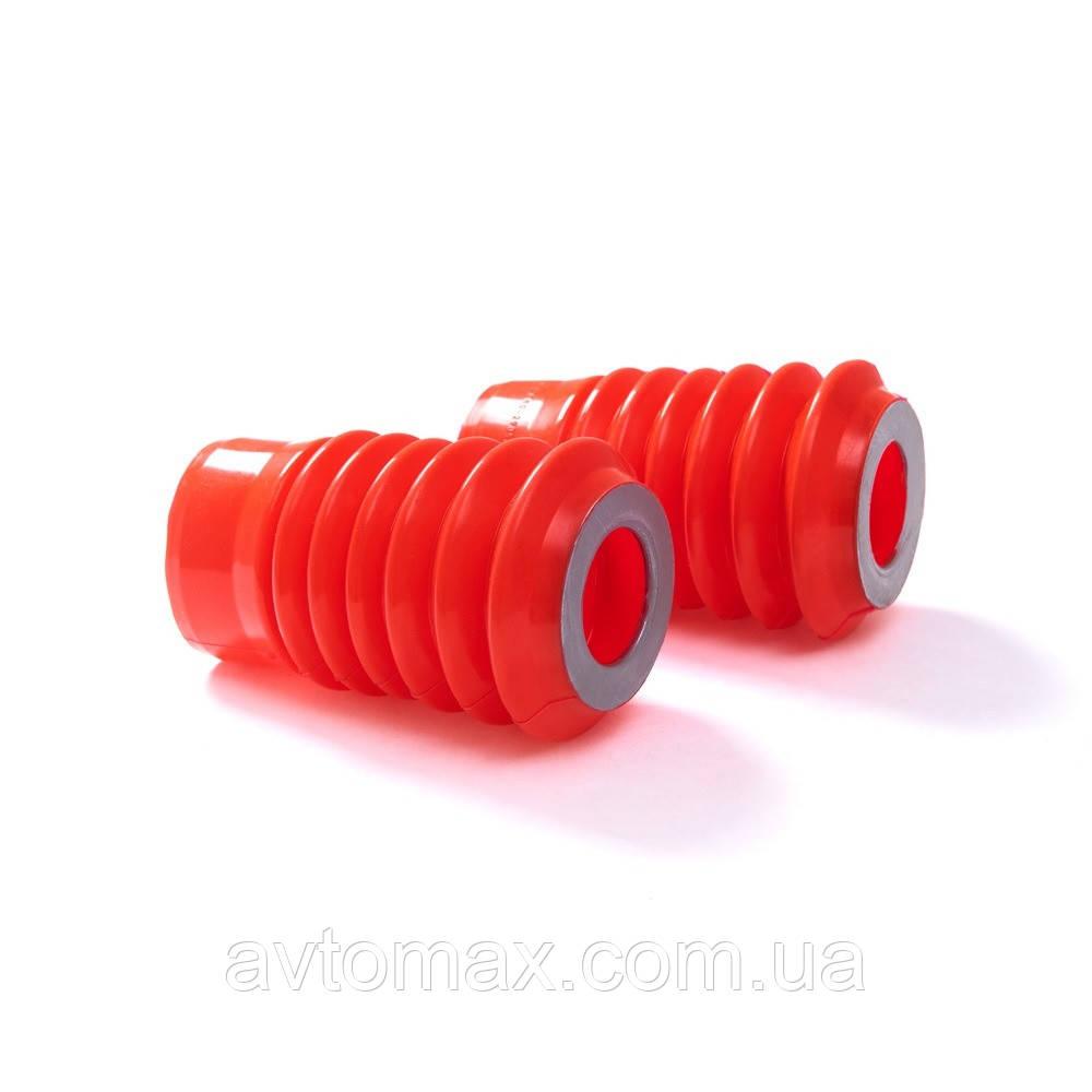Пыльник передней стойки ВАЗ 2110 (2 шт) красный силикон CS20