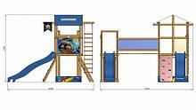Детская  площадка   SportBaby-11 SportBaby , фото 2