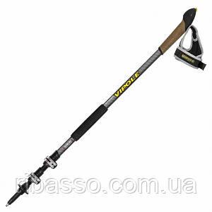 Палки для скандинавской ходьбы Vipole High Performer Ultra Trail Top-Click QL DLX S1967