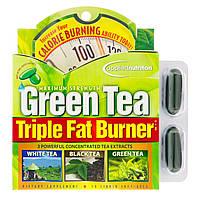 Appliednutrition, Сжигатель жира с зеленым чаем, тройного действия, 30 жидких мягких таблеток, официальный сайт