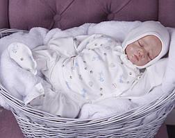 Набор одежды для новорожденных из трех предметов Animal Print 62 р