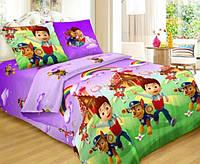 Красивое качественное стильное постельное белье евро, детское